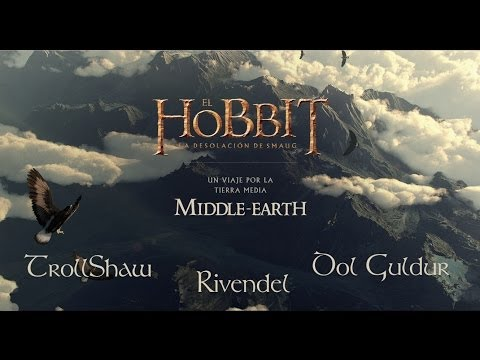 A Journey through Middle-Earth (1) [THE HOBBIT] - Chrome Experiment