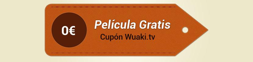 Cuarto cupón gratis para Wuaki.tv