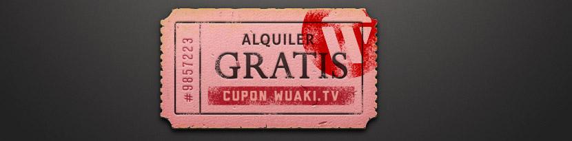 Segundo cupón gratis Wuaki.tv