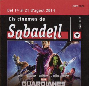 Cartelera Sabadell número 1419