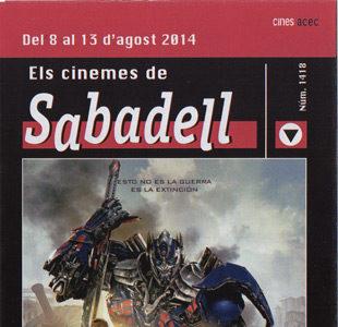 Cartelera Sabadell número 1418