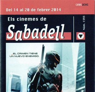 Cartelera Sabadell número 1393