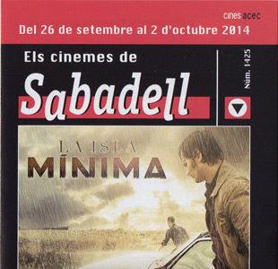 Cartelera Sabadell 1425