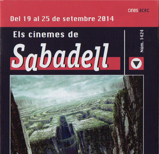 Cartelera Sabadell número 1424