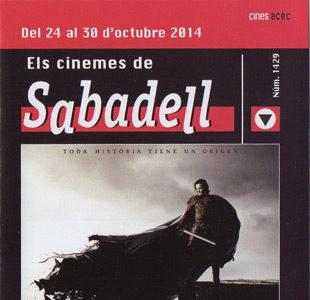 Cartelera Sabadell número 1429