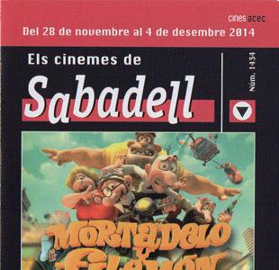 Cartelera Sabadell número 1434