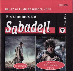 Cartelera Sabadell número 1436