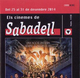 Cartelera Sabadell número 1438
