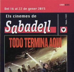 Cartelera Sabadell 1441