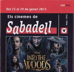 Cartelera Sabadell número 1442