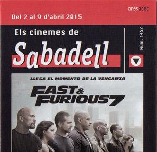 Cartelera Sabadell 1452
