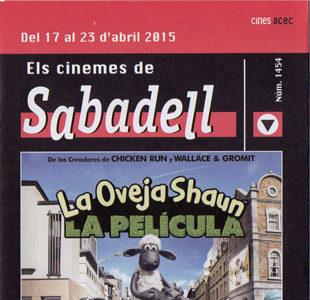 Cartelera de Sabadell número 1454