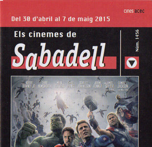 Cartelera Sabadell número 1456