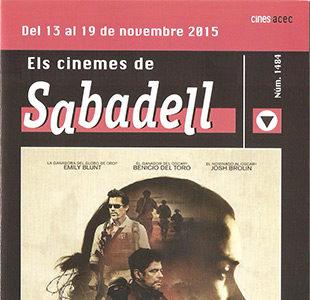 Cartelera Sabadell número 1484
