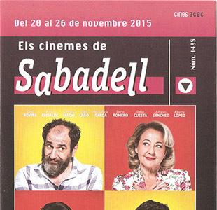 Cartelera Sabadell número 1485