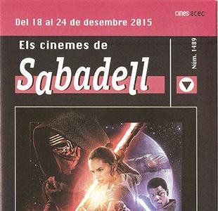 Cartelera Sabadell 1489