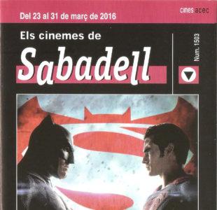 Cartelera Sabadell 1503