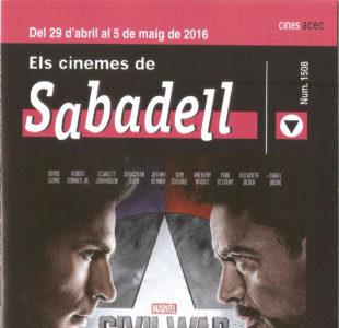 Cartelera Sabadell número 1508