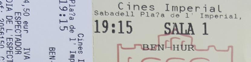 Cuanto cuesta el cine en Sabadell