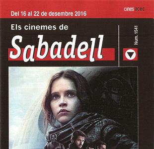 Cartelera Sabadell número 1541 Rogue One