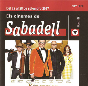 Cartelera Sabadell número 1581