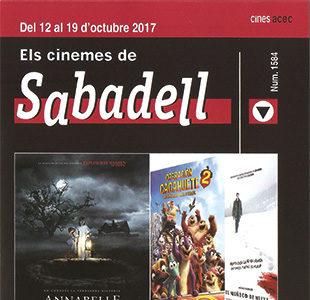 Cartelera Sabadell número 1584