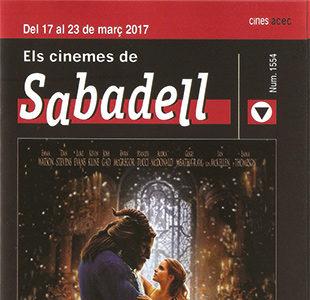 Cartelera Sabadell 1554 Bella y Bestia