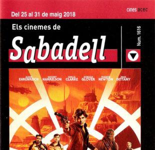 Cartelera Sabadell 1616 Han Solo