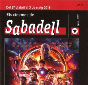 Cartelera Sabadell número 1612