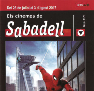 Cartelera Sabadell 1573 Spiderman Homecoming