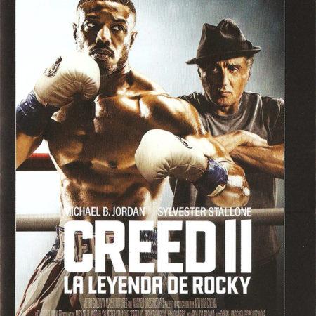 Cartelera Sabadell 1651 Creed II La leyenda de Rocky
