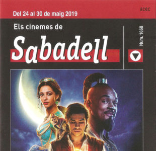 Cartelera Sabadell Aladdín