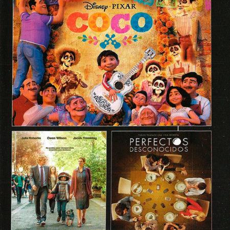 Cartelera Sabadell 1591: Coco - Wonder - Perfectos Desconocidos