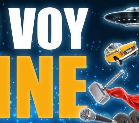 Cartel promocional Yo Voy al Cine